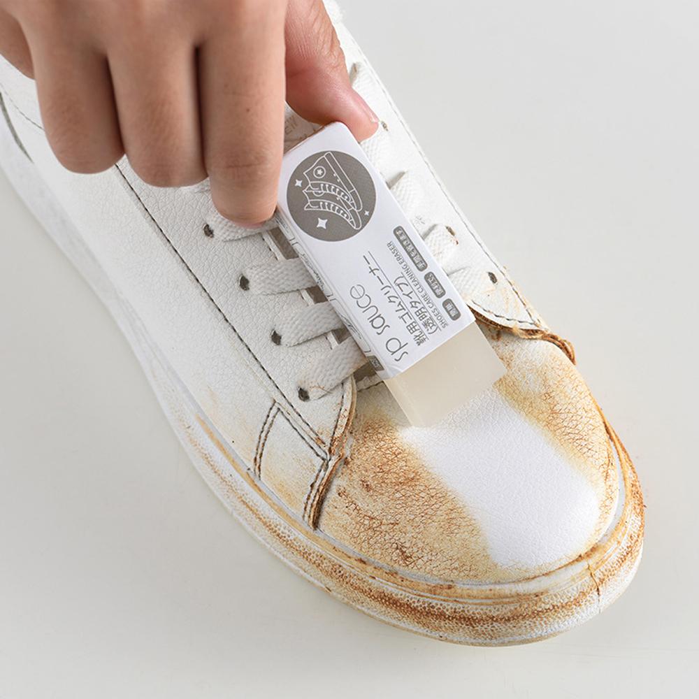 CellDeal: der Radiergummi für den Schuh - funktioniert bei Leder-, Wildleder- und Kunststoff - radieren Sie Flecken und Schmutz einfach weg!